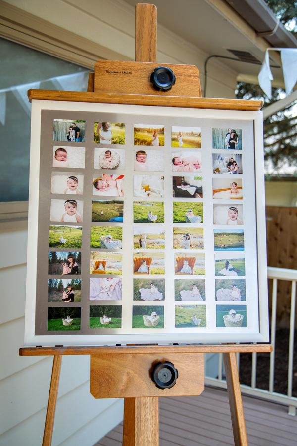 Framed Image Magnet Board