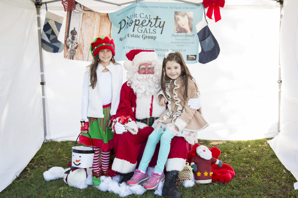 Free Santa Photos at Breen Park in Rocklin CA