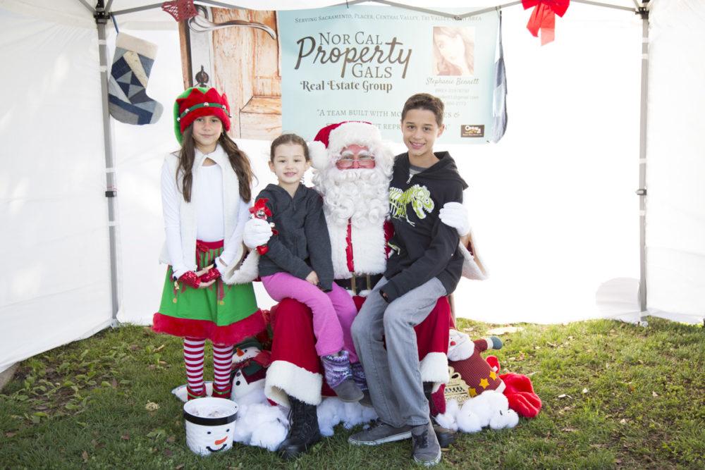 Free Santa Photos at Breen Park in Rocklin C