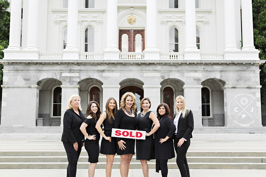Coldwell Banker Team Headshots at the Sacramento Capitol