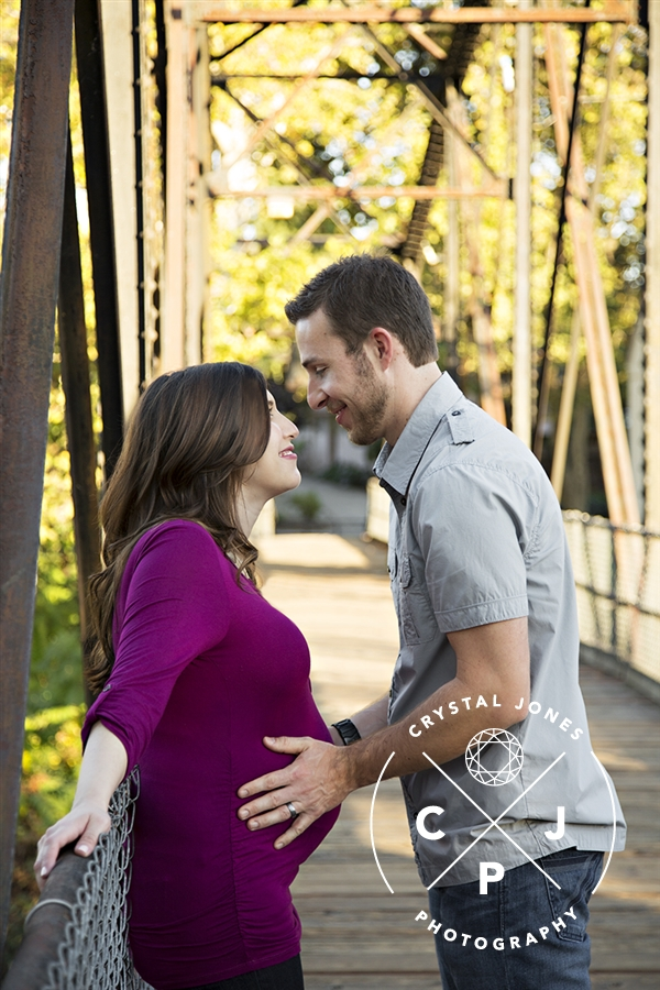 downtown roseville couples maternity portraits