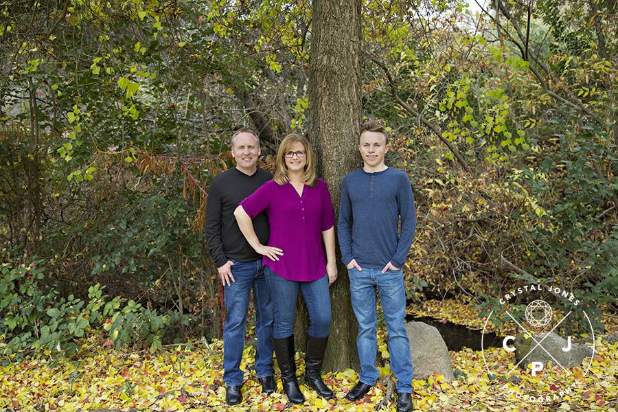Extended Family Portrait in Rocklin CA