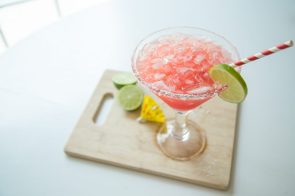 Virgin Watermelon Margarita Mocktail recipe
