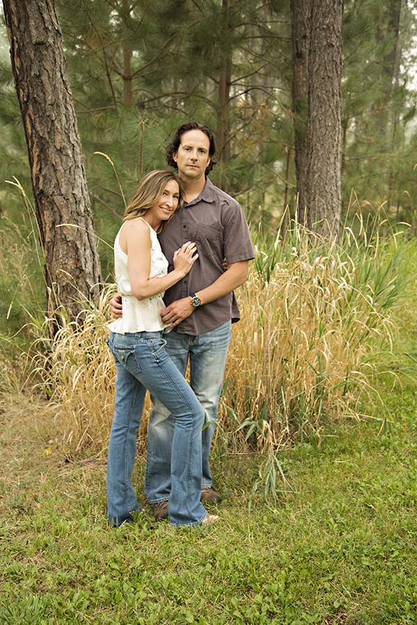 Cute Outdoor Engagement Session