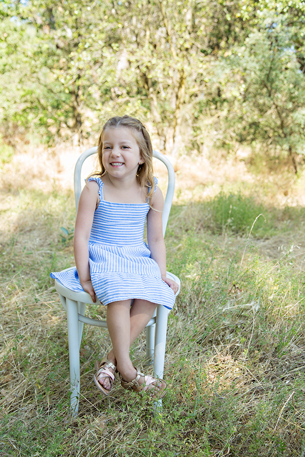 Outdoor Family Portraits in Roseville CA