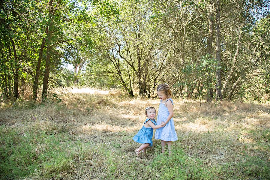 Sister Portraits in Roseville CA