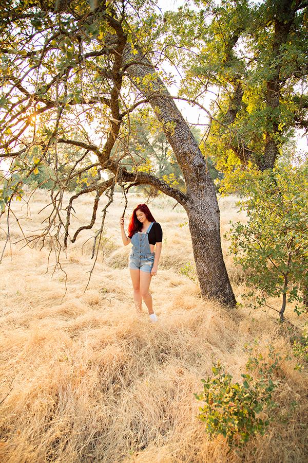 Sunset Senior Portraits in Roseville CA