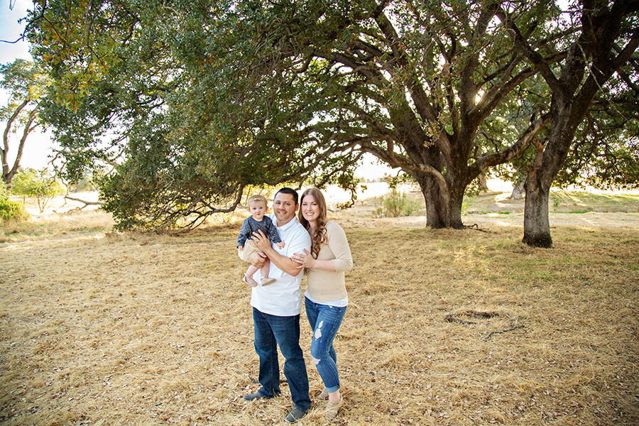 Fall Family Portraits in Roseville CA