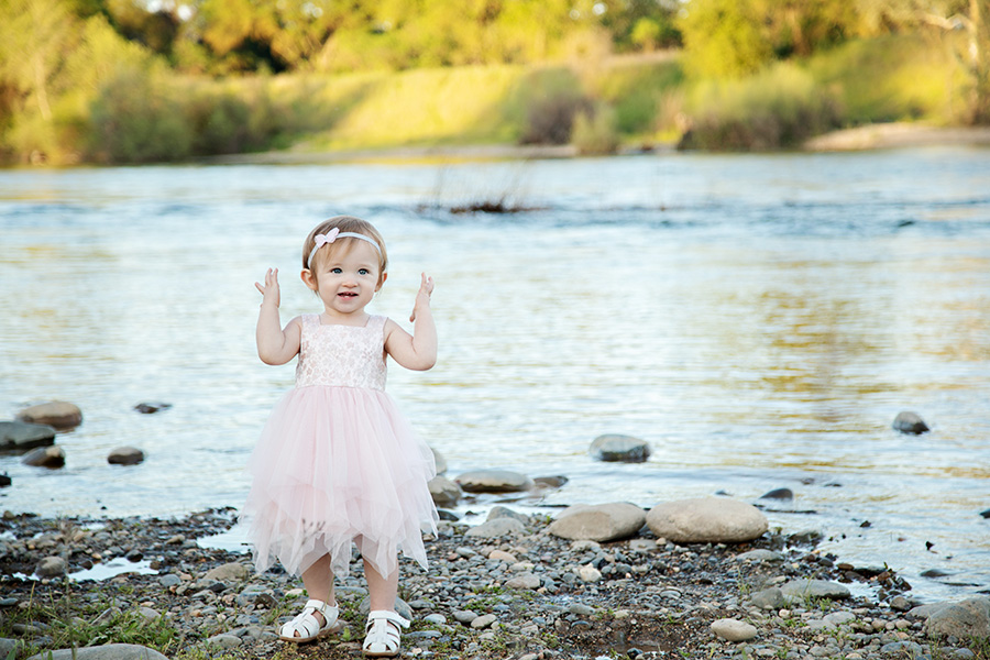 One Year Milestone Portraits at the American River